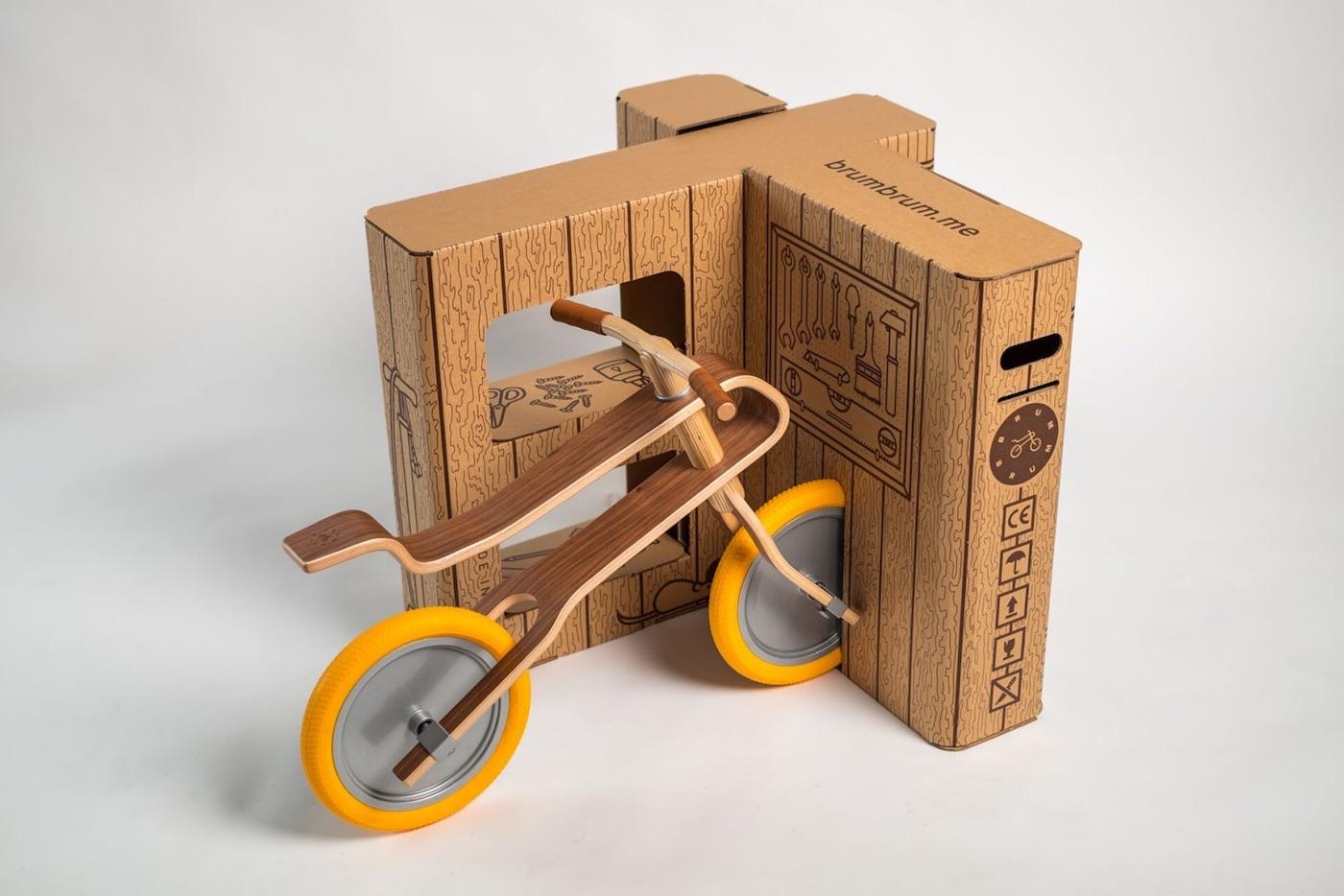 Cool packaging brum box playhouse midland paper for Industrial design packaging