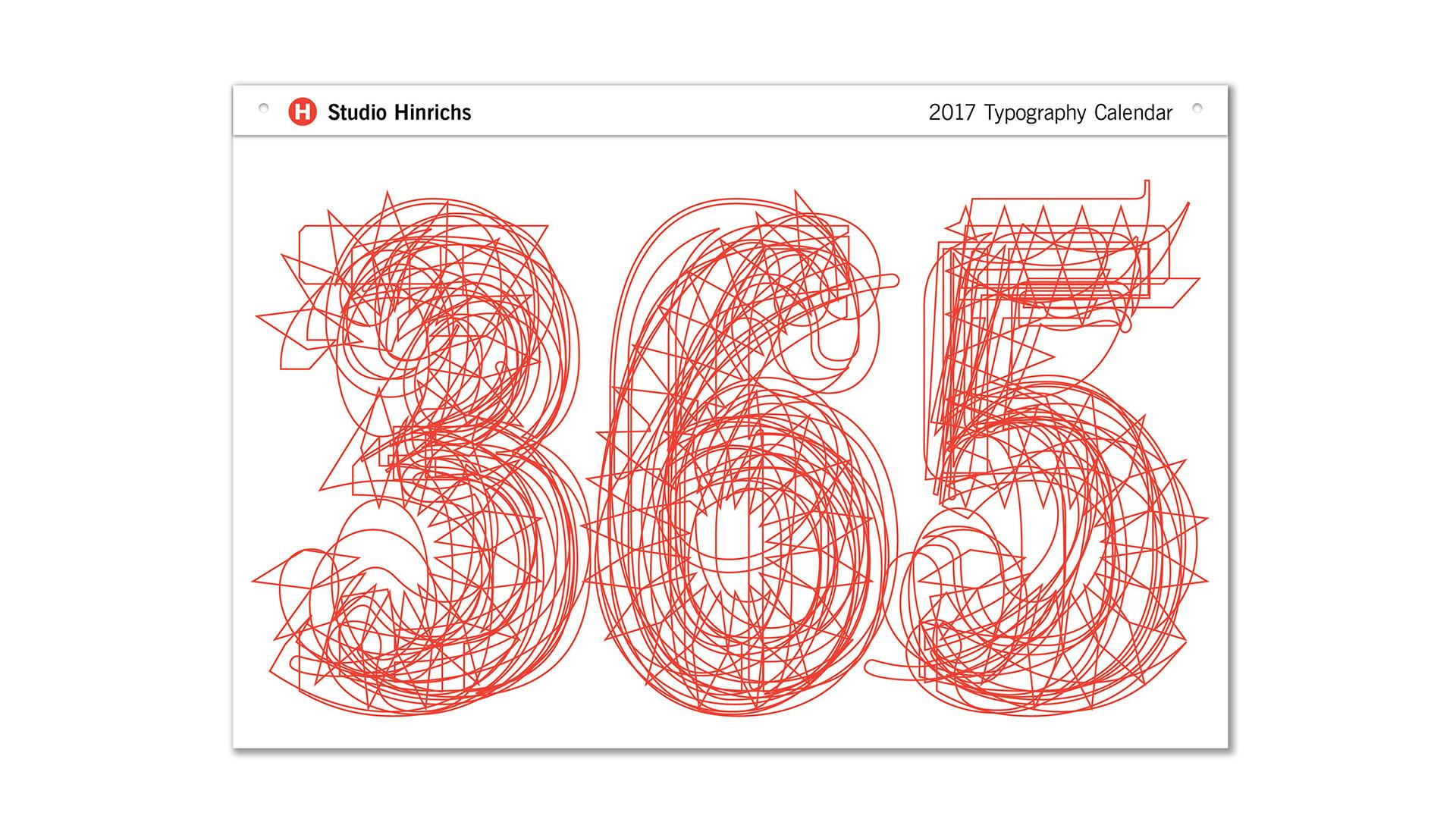 Calendar Typography Zenfolio : Typography calendar midland paper